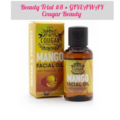 Beauty Trial #8 + GIVEAWAY - Cougar Beauty