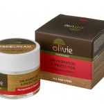 Olivie - 24ωρη κρέμα ημέρας με εκχύλισμα από ρόδι και βιταμίνη Ε