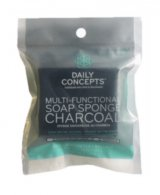 Daily Concepts - Multifunctional Soap Sponge Charcoal