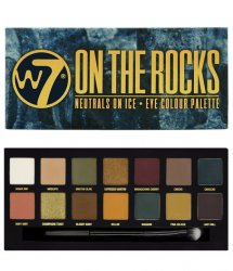 W7 - On the Rocks Neutrals on ice  Eye color palette