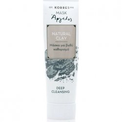 Korres - Μάσκα Natural Clay με Άργιλο για Βαθύ Καθαρισμό