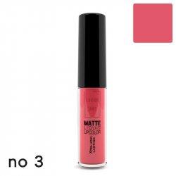 Lavish Care matte liquid lipcolor no 3