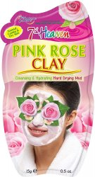 7th Heaven - Pink Rose Clay Face Mask